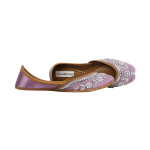 Lilac Color Juttis for Women